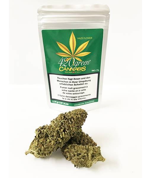 420green Haze flower