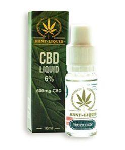 CBD e-líquido sol tropical