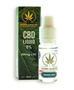 CBD e-liquid tropic sun