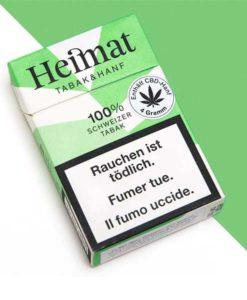 Heimat Chanvre cigarettes