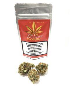 420Green Hänf Bluten CBD Mango Haze