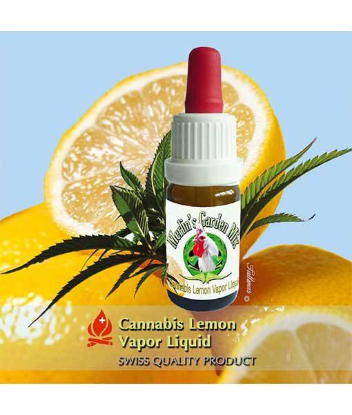 Конопля и лимонная жидкость