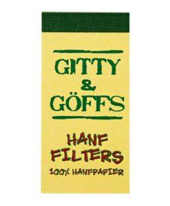 Bloc Hanffilter G & G perforé