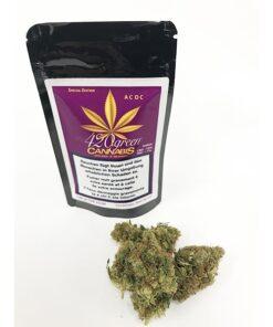 420Green Cannabis ACDC Hanfbluten