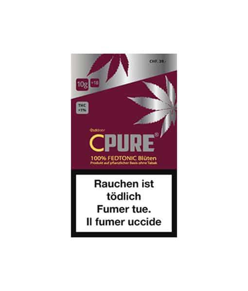Substituto de tabaco ao ar livre C-puro Fedtonic