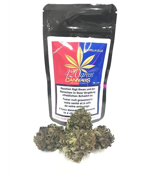 Cannabis Light Ticino Gorilla Glue