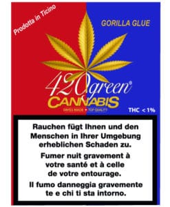 420 Green Gorilla Glue Tessin