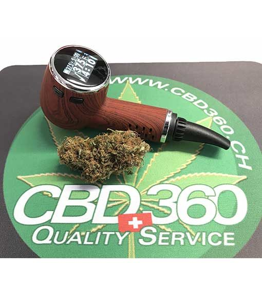 Weed pipe vaporizer