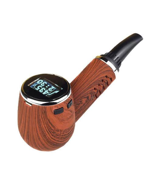 Pipe-shaped vaporizer