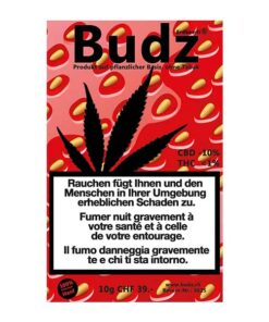 Budz Erdbeerli Kush ao ar livre