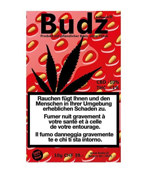 Budz Erdbeerli Kush en plein air