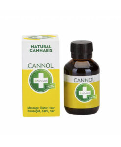 Annabis Cannol hemp oil for massages