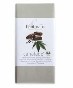 Hanf Natur Milk chocolate with hemp