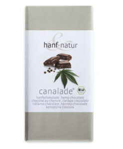 Hanf Natur Milk chocolate with hemp
