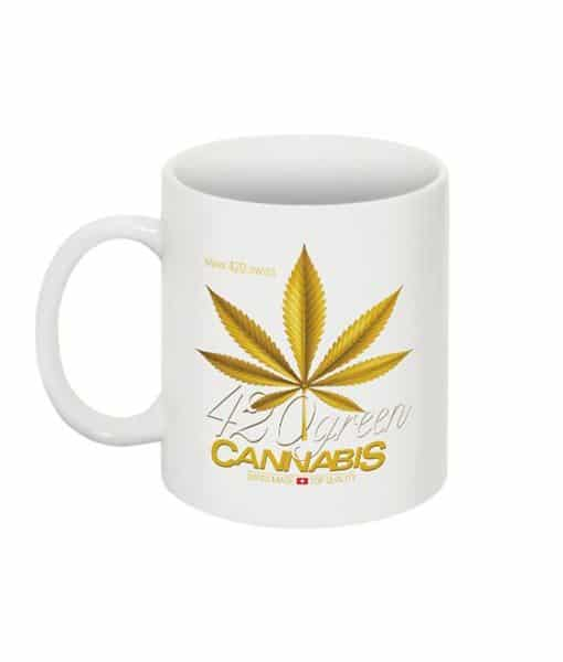 Tasse 420 Green Cannabis