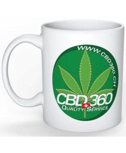 CBD360 Tasse