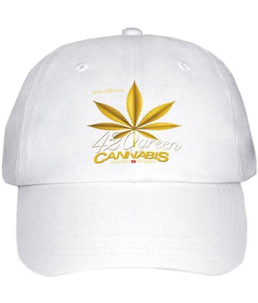 Cappello 420 Green Cannabis