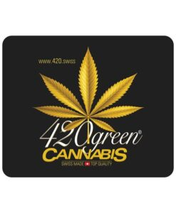 420 Green Cannabis Mouse Pad