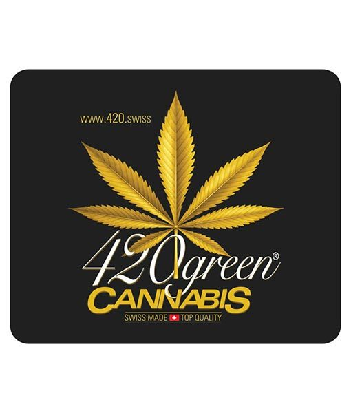 Mouse pad 420 Green Cannabis