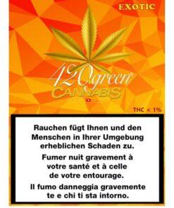 420Green Exotic cannabis light
